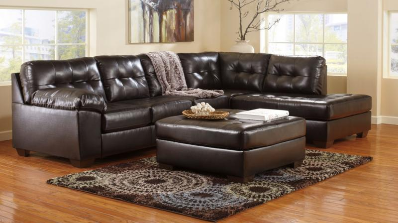 Home designs furniture sofa chaise for At home designs sedona leather chaise recliner