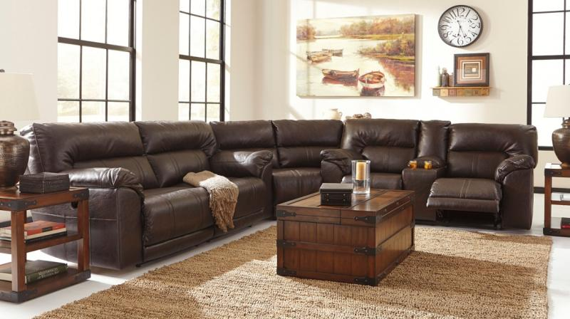Home Designs Furniture Sectionals With Reclining